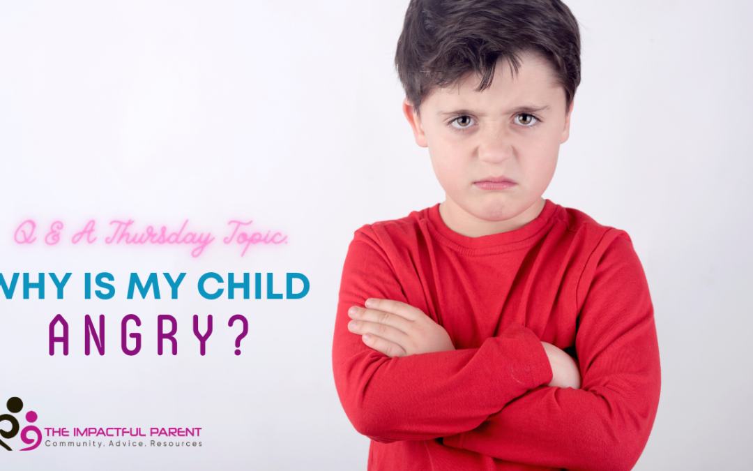 Why Is My Child Angry?