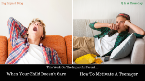 Motivating a Lazy Teenager