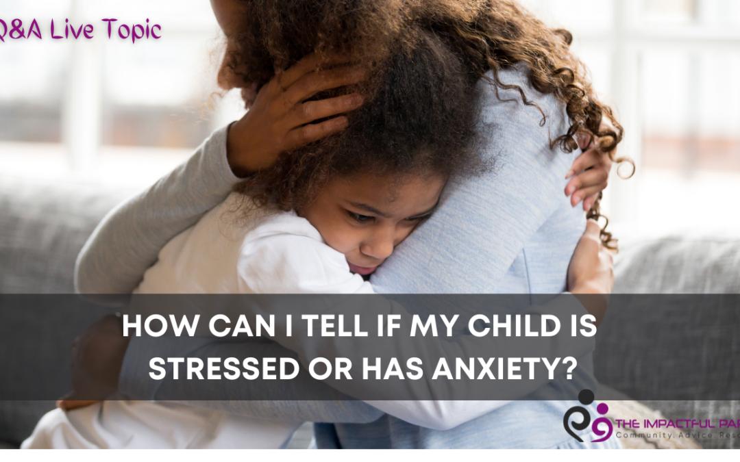 Stress Versus Anxiety