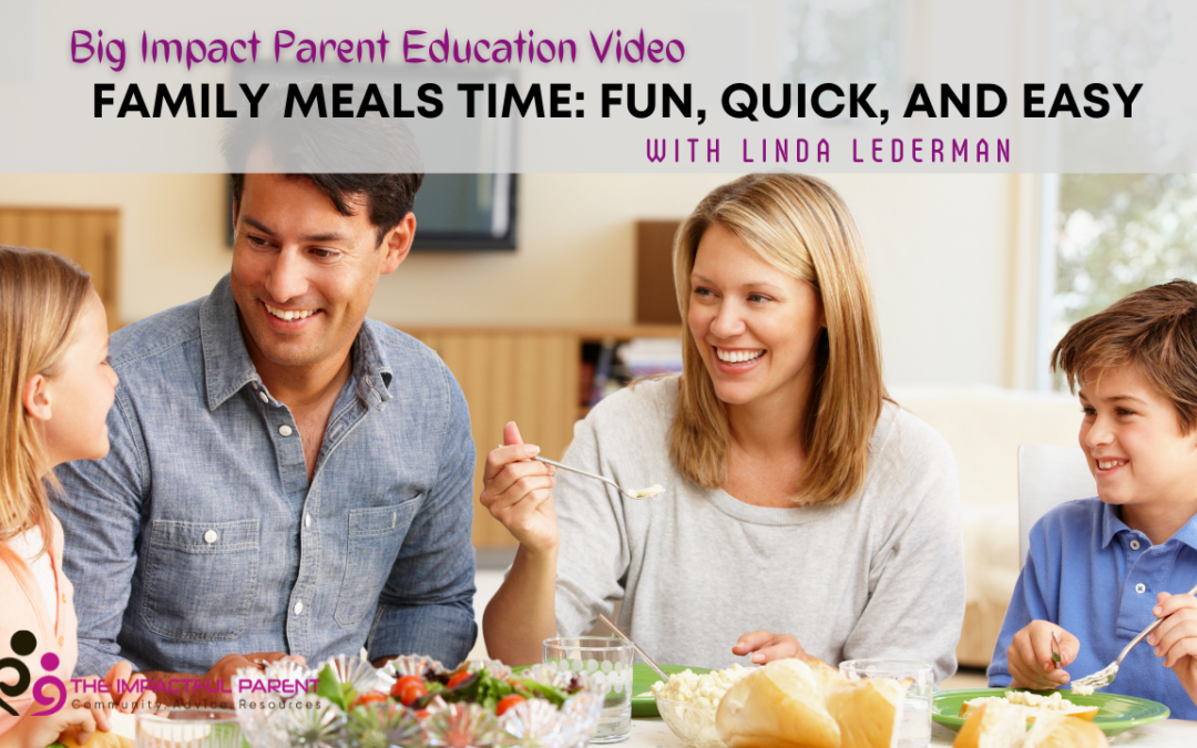 Make Dinner Time Easy, Quick, and Fun!